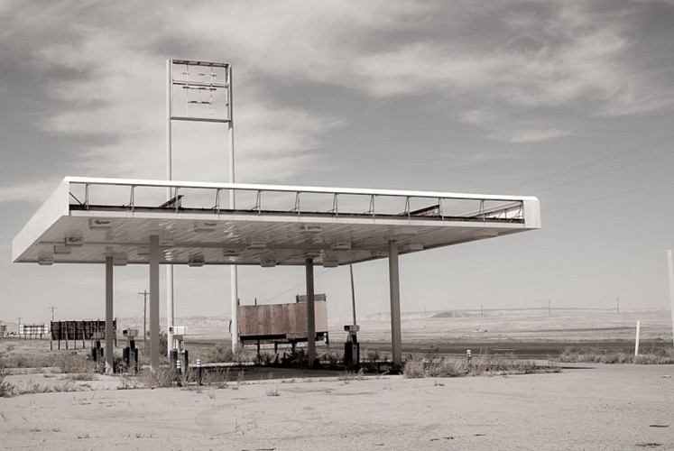 Ghost Gas Station